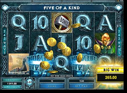 Play Thunderstuck II online slots