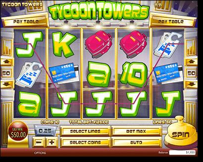 Tycoon Towers online slots