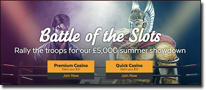Battle of the Slots promotion - 32Red Casino