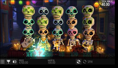 Esqueleto Explosivo pokies by Thunderkick