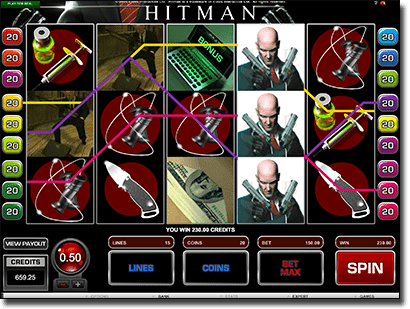 Hitman online slots for real money