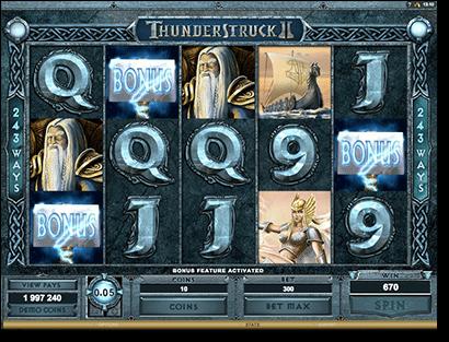 Thunderstruck II online pokies