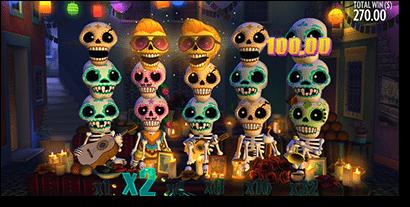 Esqueleto Explosivo pokies for real money online