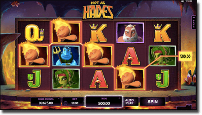 Hot as Hades real money slots