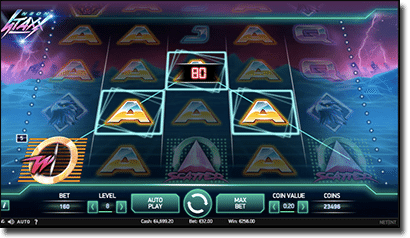 Neon Staxx real money slots on mobile