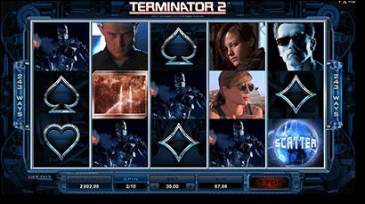 Terminator 2 online pokies game