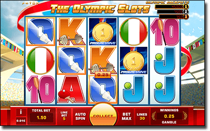 The Olympic Slots for real money