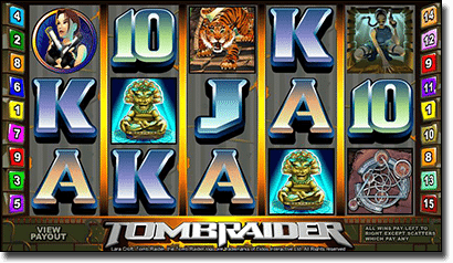 Tomb Raider online slots Microgaming