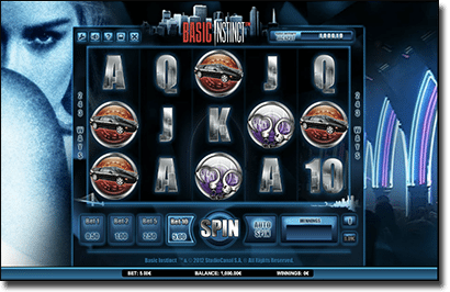 Basic Instinct online pokie game