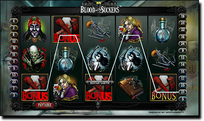 Play Blood Suckers online pokies for real money