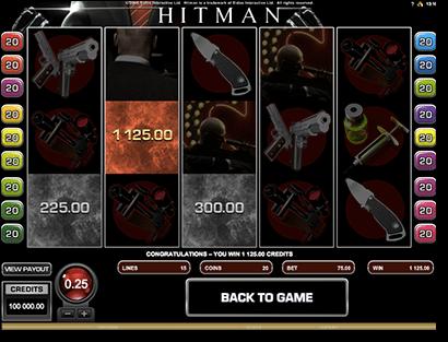 Hitman online pokie game