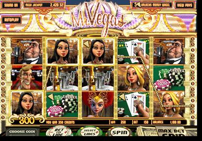Mr Vegas 3D online slots