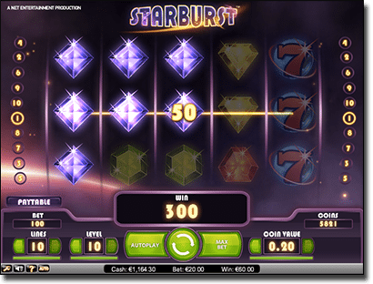 Starburst online slots