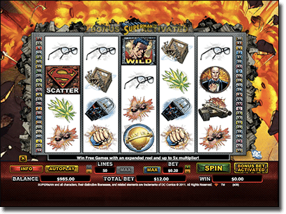 Superman online pokie
