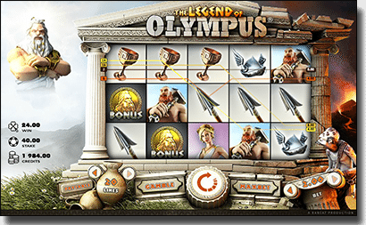 Legend of Olympus online pokies