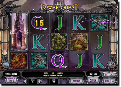 Tower Quest online slots