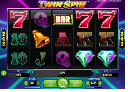Twin Spin online 243 Ways slots