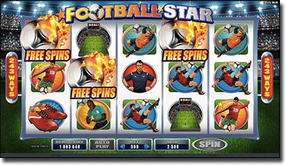 Football Star real money pokies