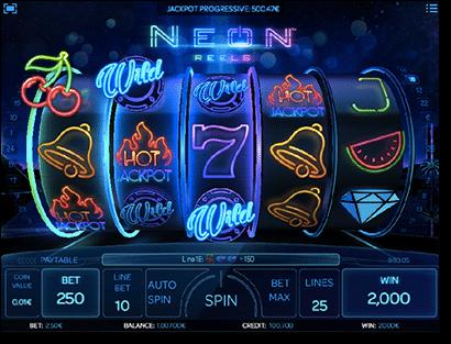 Neon Reels online pokies iSoftBet