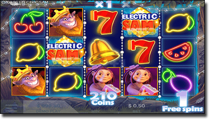 Electric Sam online video slots