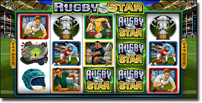 Rugby Star online sports pokies