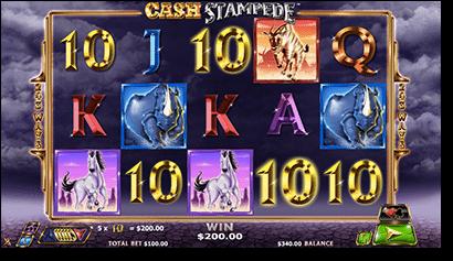 Cash Stampede online pokies