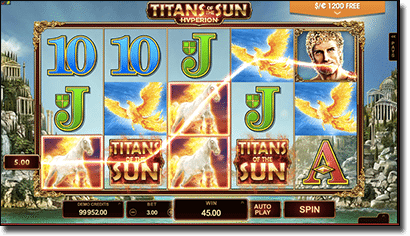 Titans of the Sun Hyperion online slots