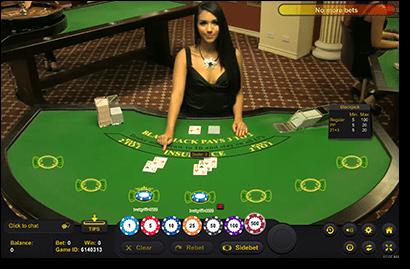 Play Mac compatible blackjack live dealer games