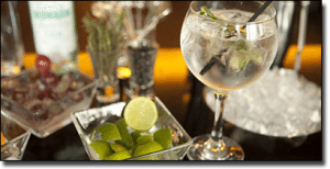 Gin and Tonic - classic casino drink