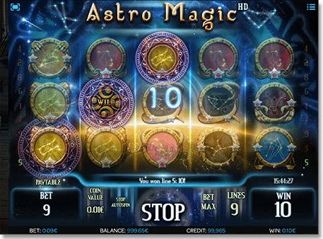 Real Money Astro Magic pokie