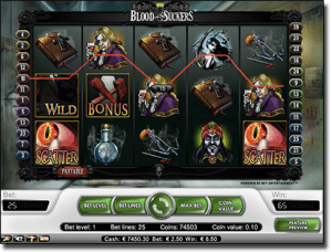 Blood Suckers progressive jackpot pokies