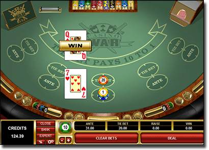 Casino War Rules How To Play Online House Edge And Best Sites