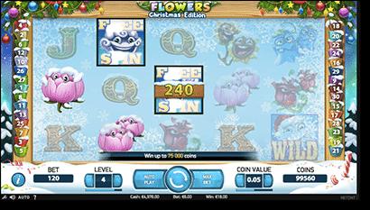 Flowers: Christmas Edition video pokies