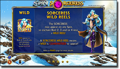 Spin Sorceress special features