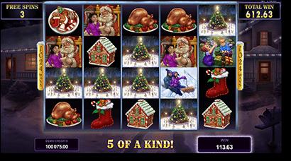Happy Holidays Xmas real money online slots