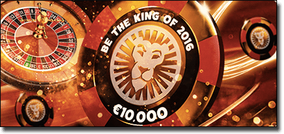 The King of 2016 promotion at Leo Vegas
