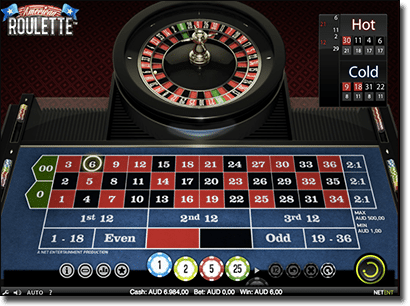American roulette casino sites for Australians