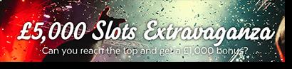 32Red.com 2016 Slots Extravangaza