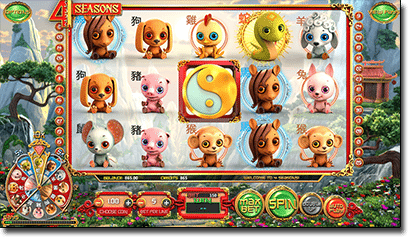 4 Seasons Chinese online pokies