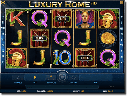 Luxury Rome HD pokies