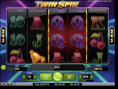 Twin Spin online pokies