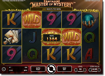 Fantasini: Master of Mystery real money pokies
