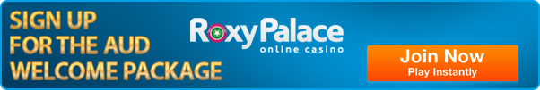 Roxy Palace Casino - Redeem AUD bonuses and promotions