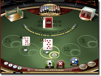 Bonus Blackjack multi-hand for real money online