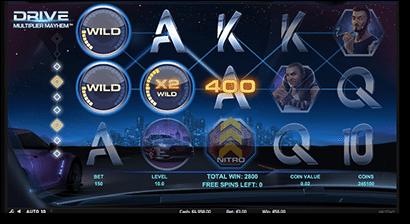 Drive: Multiplier Mayhem pokies level 3 bonus feature