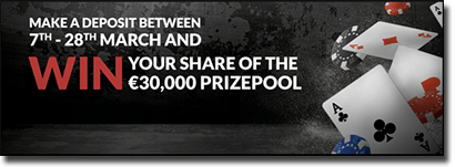 Guts.com online poker prize pool March 2016