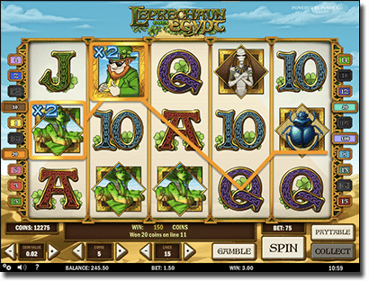 Leprechaun Goes Egypt pokies