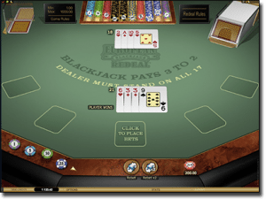 Microgaming Blackjack Gold
