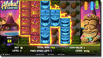 Aloha! Cluster Pays online pokies by Net Ent