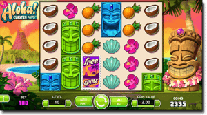 Aloha! Cluster Pays online pokies at Slots Million